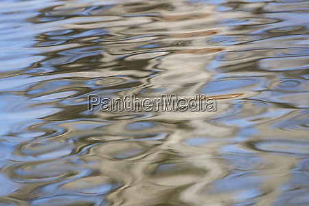 water reflection with ripples