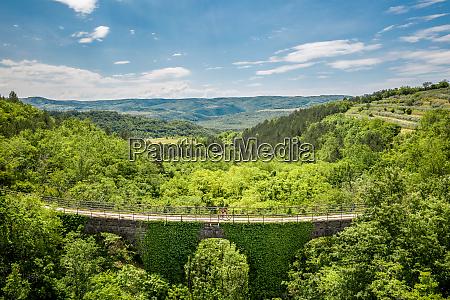aerial view of freski bridge