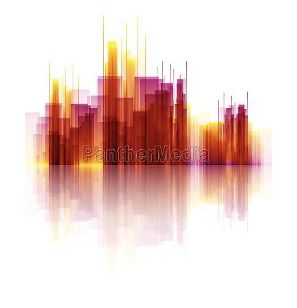 abstract skyscraper scene 2704